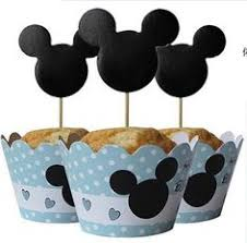 Details about <b>24pcs</b> Minnie Mouse Cupcake <b>Wrappers</b> Cupcake ...