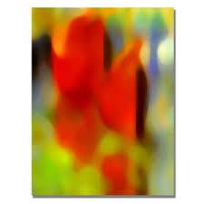 Trademark Fine Art 24 in. x 32 in. Park <b>Afternoon Canvas</b> Art ...