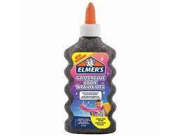 <b>Слайм Glitter</b> Glue для слаймов 177ml Black - Чижик
