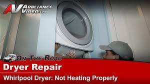 Ge Electric Dryer Heating Element Whirlpool Gew9250pw0 Dryer Repair Not Heating Element