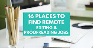 Online Editing and Proofreading Jobs Work from Home Happiness