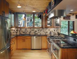 track lighting ideas kitchen eclectic with arlington black hardware cherry cathedral ceiling track lighting