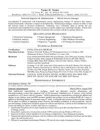 Network Administrator Resume Example Network Administrator Resume - Page 1