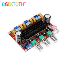 TPA3116D2 Digital Subwoofer Amplifier Board DC12V 24V 2x50W ...