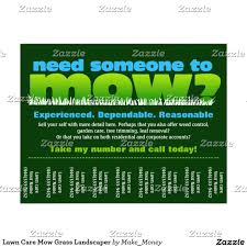 summer lawn care flyers lawn care mow grass landscaper summer lawn care flyers
