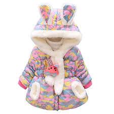 Yourig 2pcs/<b>Set Korean</b> Winter <b>Baby Kids</b> Girls Fleece Down Cotton ...