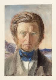 Charles Fairfax Murray Portrait of John Ruskin, Head and Shoulders, Full Face 1875 - T10251_10