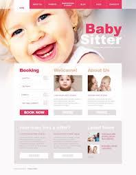 best wordpress baby templates themes premium templates babysitter wordpress theme