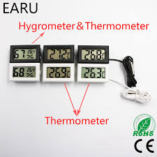 Mini <b>LCD Digital Thermometer Temperature</b> Meter Tester Gauge ...