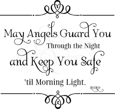 Nursery Wall Quotes | Baby Girl Quotes, Baby Boy Quotes Angels Guard