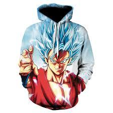 Hot Anime Dragon Ball Hoodies <b>Men Women 3D Sweatshirts</b> Super ...