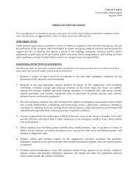 emt resume objective examples resume innovations firefighter resume aviation resum entry level firefighter resume