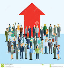 career promotion and advancement stock vector image  career promotion and advancement