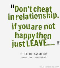Cheat quotes, sayings with pictures