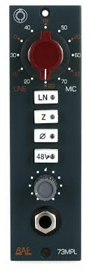 BAE 1073MPL 500 Series Microphone Preamp | Sweetwater
