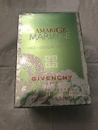 <b>Givenchy Amarige Mariage Lace</b> Edition EDP Spray 100ml 3.4oz ...