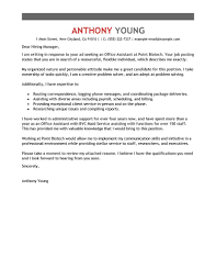 office assistant cover letter sample perfect cover letter examples