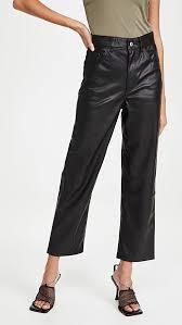 <b>Levi's Faux Leather</b> Rib Cage Straight Pants | SHOPBOP
