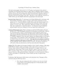 research paper apa outline sample sample essay outline