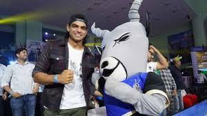 Our <b>Lovely Mascot</b>! -Haryana Steelers