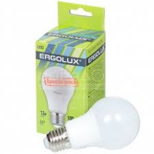 Купить <b>Лампа светодиодная Ergolux Груша</b> ЛОН 13349, 13 Вт ...
