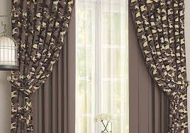 <b>Комплект штор ТОМДОМ Леорика</b> (коричневый) (933033) купить ...