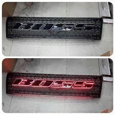 Тюнинг Ford Ranger 2013 <b>Решетка радиатора с подсветкой</b> Boss ...
