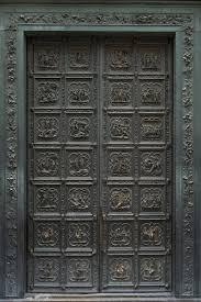 Lorenzo Ghiberti's North <b>Door</b> of the Florence Baptistery(1403-24 ...