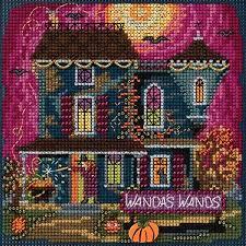 Mill Hill Wanda's Wands Beaded <b>Counted Cross</b> Stitch <b>Halloween</b> ...