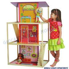 Mobili Per La Casa Delle Bambole : Casa delle bambole manhattan toy