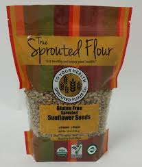 <b>Organic Sprouted Sunflower</b> Seeds