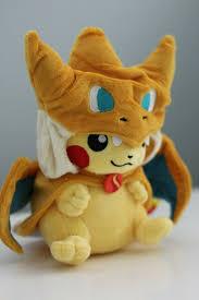 "Купить Pokemon <b>Pikachu Cosplay</b> Charizard 9"" Soft Plush Toy на ..."