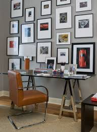 traditional home office decorating ideas with wall collage replacement and using clear glass used for covering the picture frame and the picture bright idea home office ideas