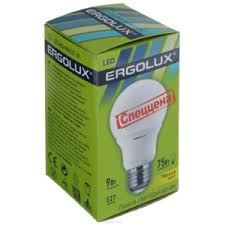 <b>Светодиодная лампа Ergolux LED</b>-A60-9W-E27-3K | Отзывы ...