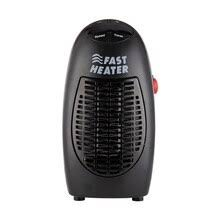 400W <b>Mini</b> Fan <b>Heater Wall Mounted Electric Heater</b> Stove Radiator ...