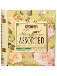 "Цейлонский зеленый <b>чай Basilur</b> ""Чайная книга. Букет. <b>Ассорти</b> ..."