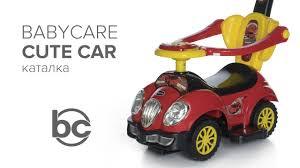 <b>Babycare Cute</b> Car, <b>каталка</b> с ручкой - YouTube