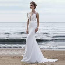 <b>LORIE Beach Wedding Dresses</b> 2019 Boho Mermaid Wedding ...