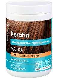<b>Маска для волос</b> Keratin 1000 мл (1 ЛИТР) Dr.Sante 5532325 в ...