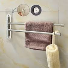 Assile Swivel <b>Towel</b> Bars 3-Arm Wall Mount SUS304 <b>Stainless Steel</b> ...