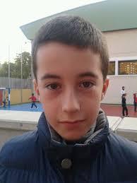 Alberto Marti, jugador del equipo Cadete. Alejandro Madorrán, jugador del equipo Alevín - img-20121106-wa0001
