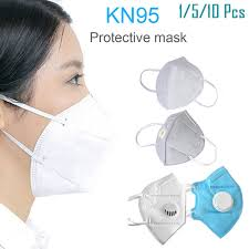 5/10/<b>20pcs KN95 Mask</b> PM2.5 Anti fog Breathable Face Masks With ...