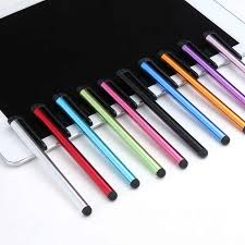 2 in 1 Multifunction <b>Fine Point</b> Round <b>Thin Tip</b> Touch Screen Pen ...