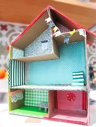 diy cardboard dollhouses made by kids build dollhouse furniture