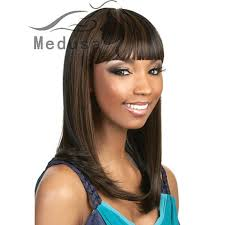 Medusa hair products: <b>Modern Cleopatra</b> styles afro long black wig ...