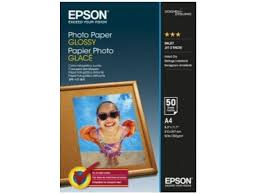 A4 <b>EPSON Photo Paper</b> Glossy, 50 Sheets, <b>C13S042539</b>