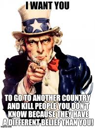 I want you For US army! Meme Generator - Imgflip via Relatably.com