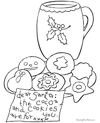Small Picture Christmas Cookie Coloring Pictures