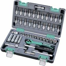 <b>Набор</b> инструментов STELS 14099 1/4 cr-v s2 усиленный кейс ...