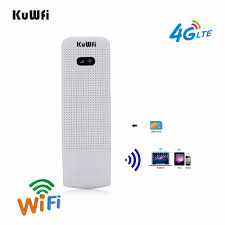 <b>KuWFi 4G LTE</b> Modem 3G/4G <b>USB Dongle</b> Mini Pocket Mobile Wifi ...